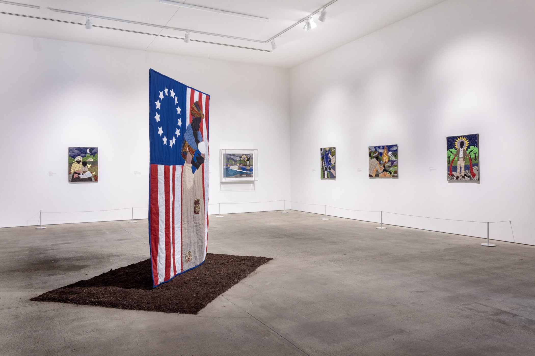 Installation view of Stephen Towns: Rumination and a Reckoning at Art + Practice. 12 October 2019 - 25 January 2020. Photo by Joshua White.