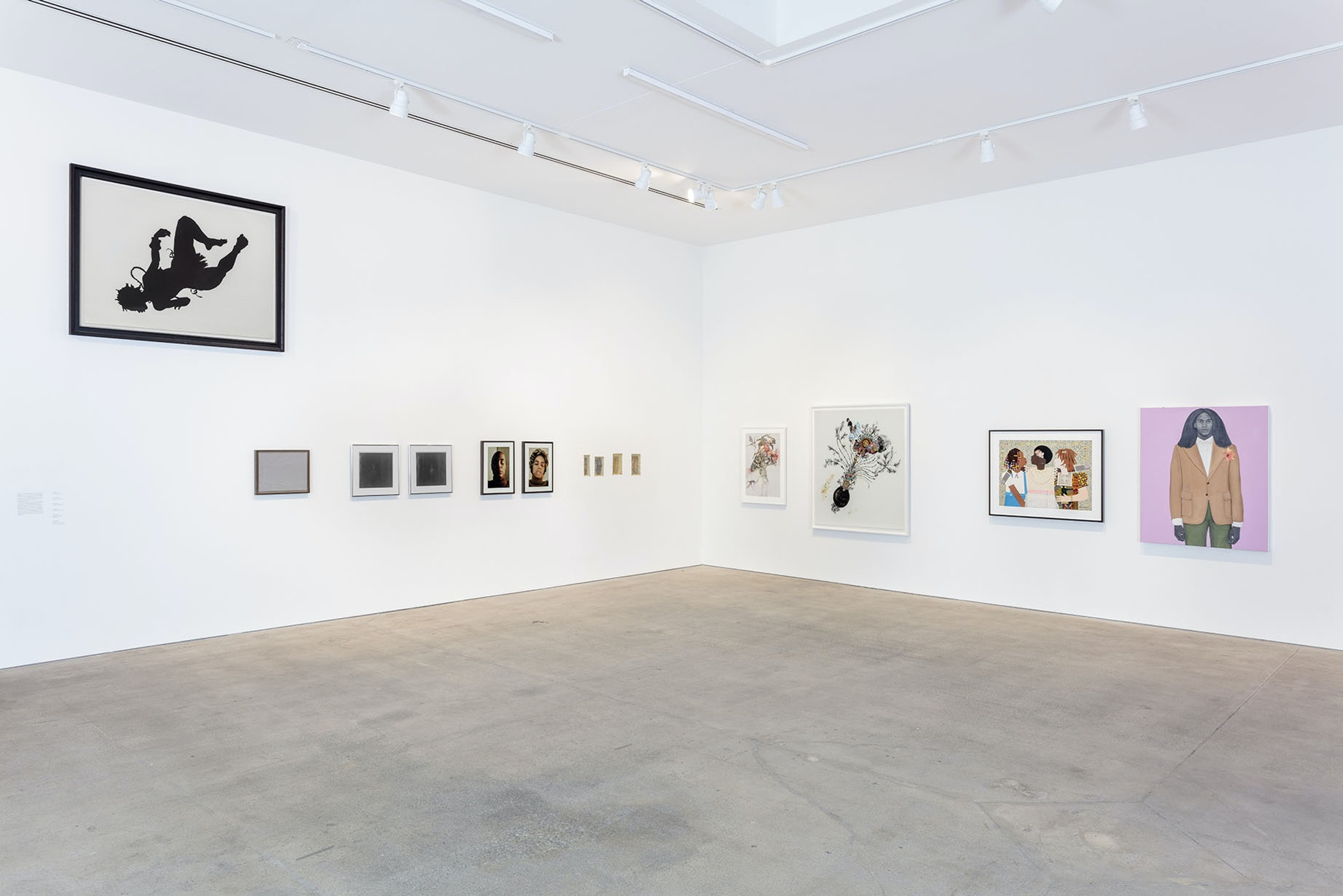 Installation view of Collective Constellation: Selections from The Eileen Harris Norton Collection at Art + Practice. 08 February 2020 - 02 January 2021. Photo: Charles White.