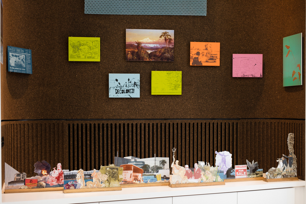 Ashley Hunt, Varieties of Requisition and the Interpreters' Guild, 2016. Installation view from the Arcus Center for Social Justice Leadership, Kalamazoo, MI.