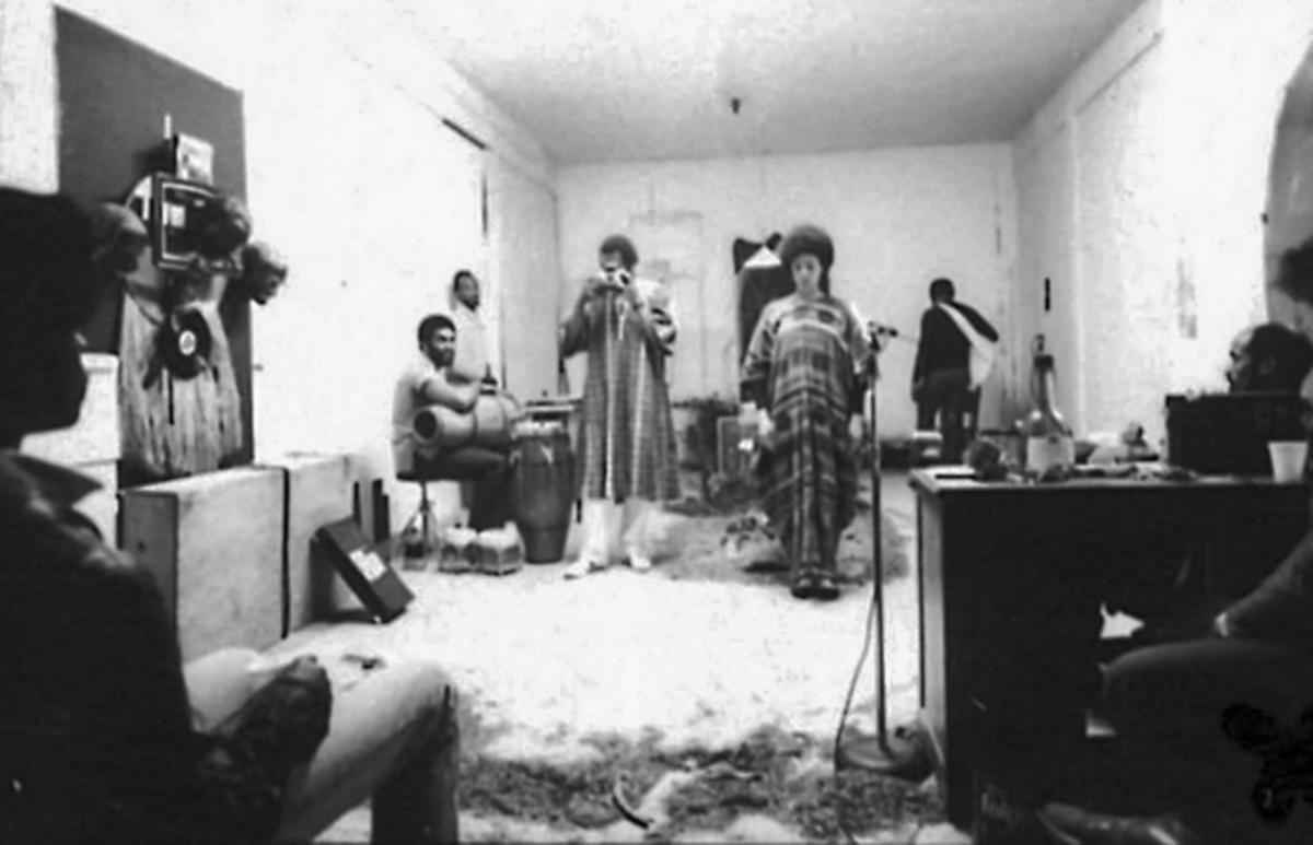 Ulysses Jenkins, Adams Be Doggereal (1981). Performance. Photo by Bruce W. Talamon.