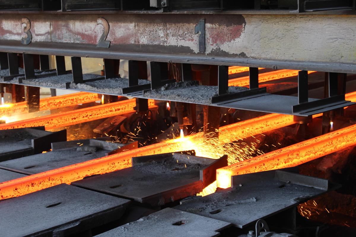 Gerdau steel mill in Racho Cucamonga, California. Photo by May Sun.