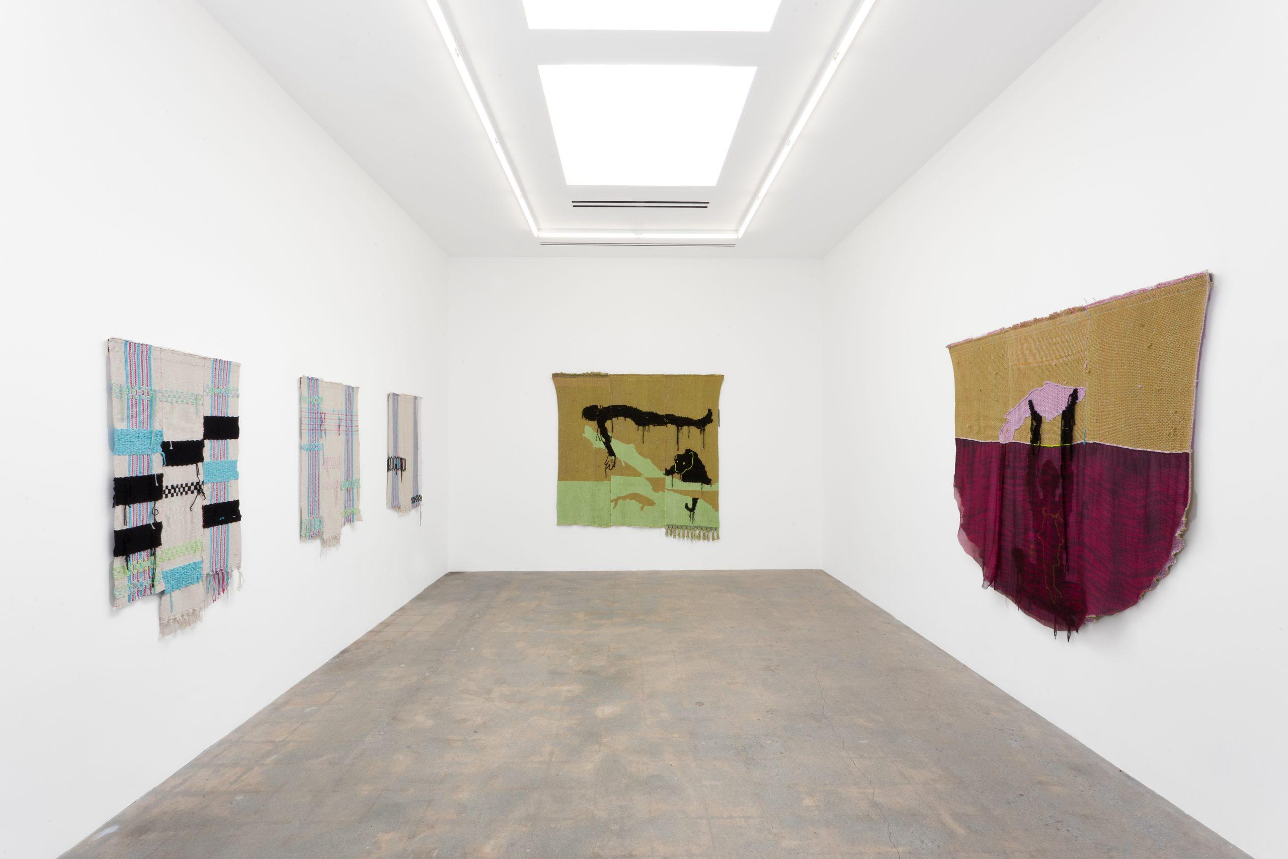 Diedrick Brackens, fantasmas impíos, 2019, Various Small Fires, Los Ángeles. Cortesía del artista y Various Small Fires, Los Ángeles / Seúl y Jack Shainman Gallery, Nueva York.