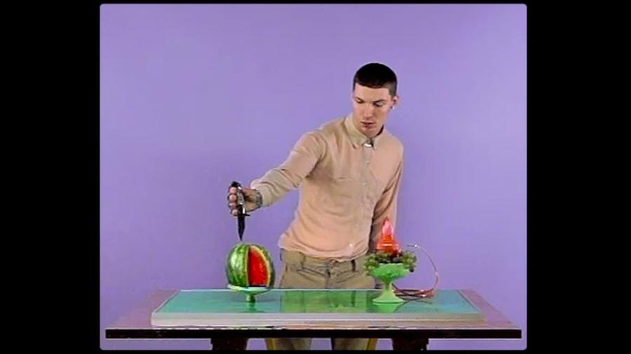 Alex Da Corte, Bad Blood (video still), 2012. Standard digital video, TRT 3:59. Courtesy of the artist.