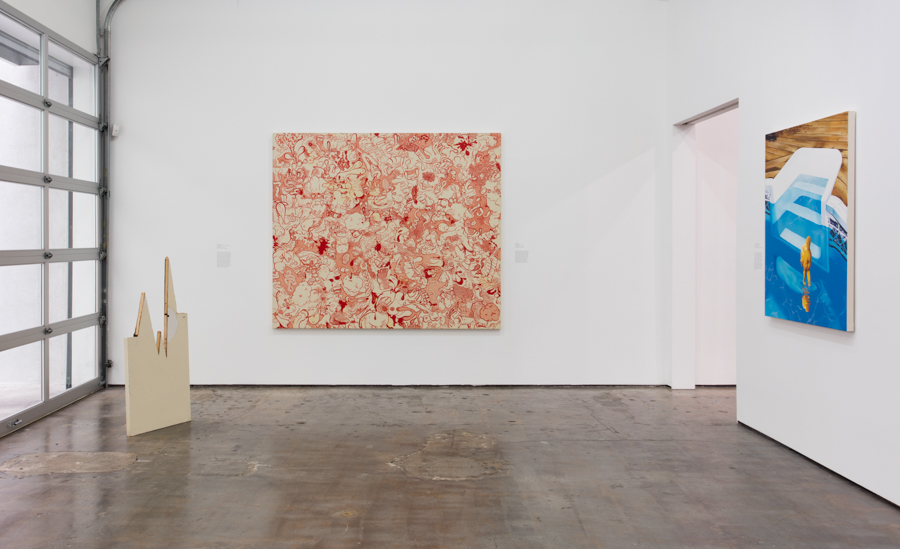 Installation view of A Shape That Stands Up. Art + Practice, Los Angeles. March 19–June 18, 2016. Photo by Brian Forrest.