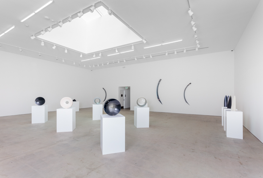 Installation view of Fred Eversley: Black, White, Gray. Art + Practice, Los Angeles. November 12, 2016 – January 28, 2017. Photo by Joshua White.