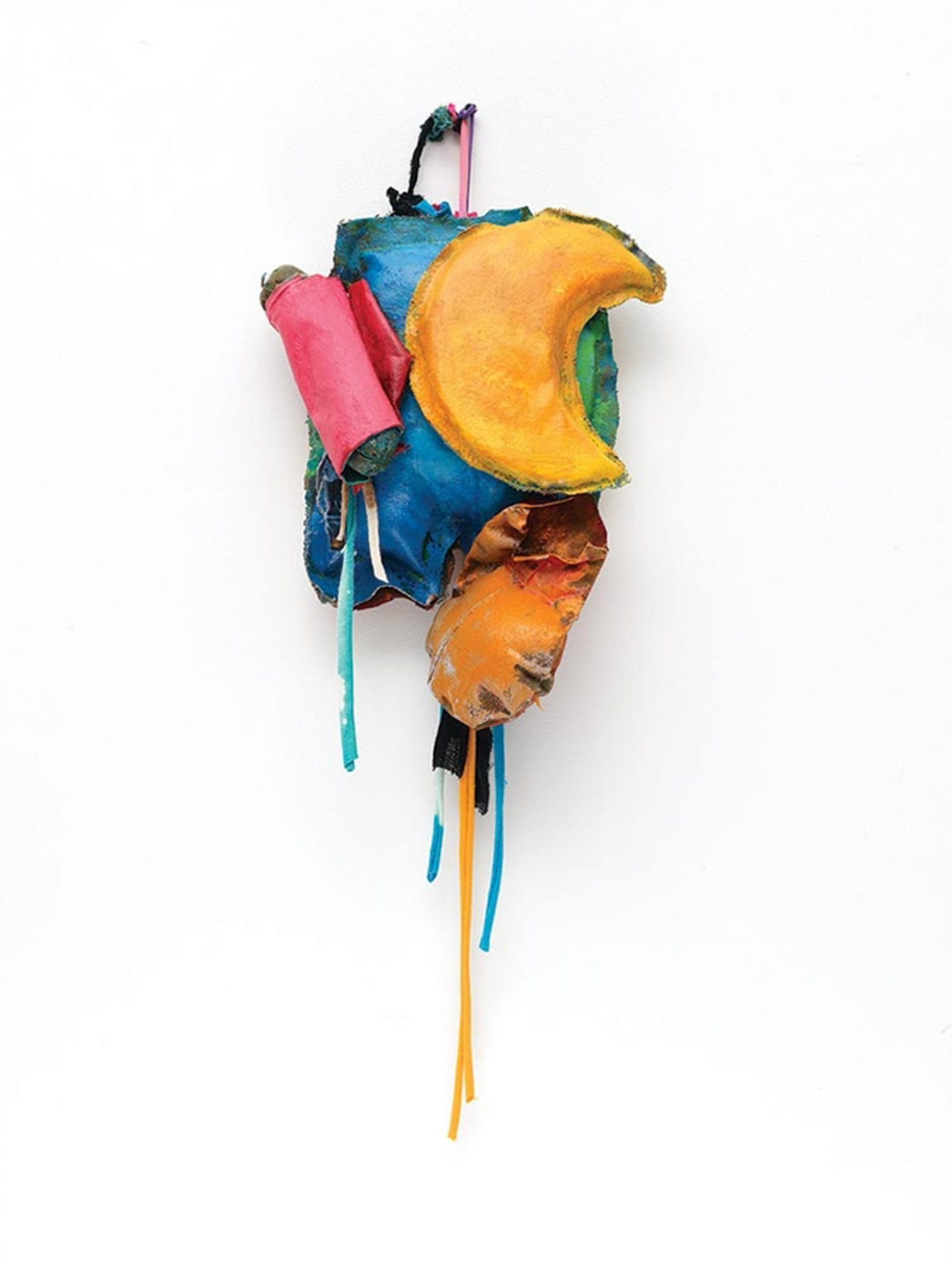 John Outterbridge, Rag and Bag Idiom IV, 2012, mixed mediums, 32 by 12 by 5¾ inches; at Art + Practice.